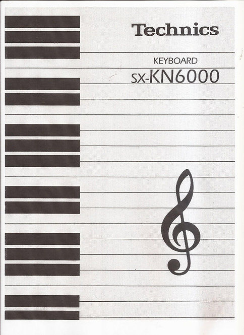 KN6000 Owners Manual