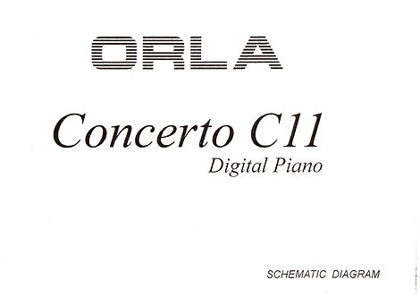 C11 Concerto Service Manual