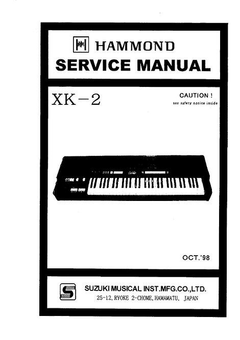 XK-2 Service Manual