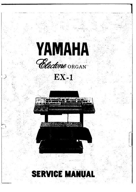 EX-1 Electone Service Manual
