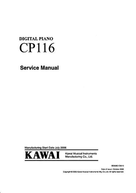 CP116 Service Manual