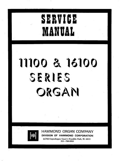 11100 & 16100 Series Service Manual