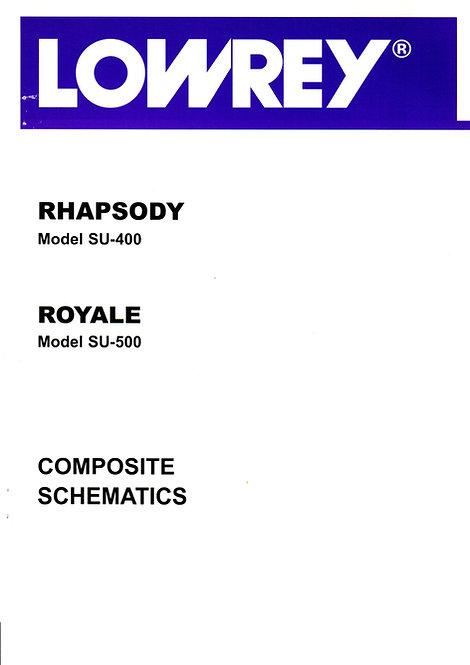 SU400 Rhapsody / SU500 Royale Schematics