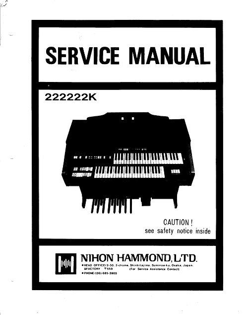222222K Service Manual