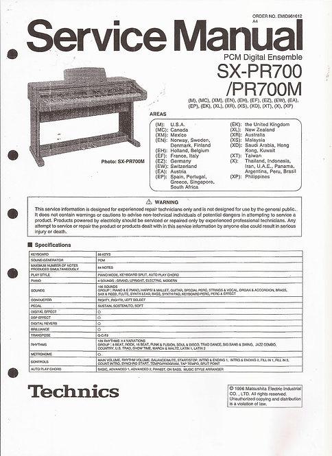 PR700 Service Manual