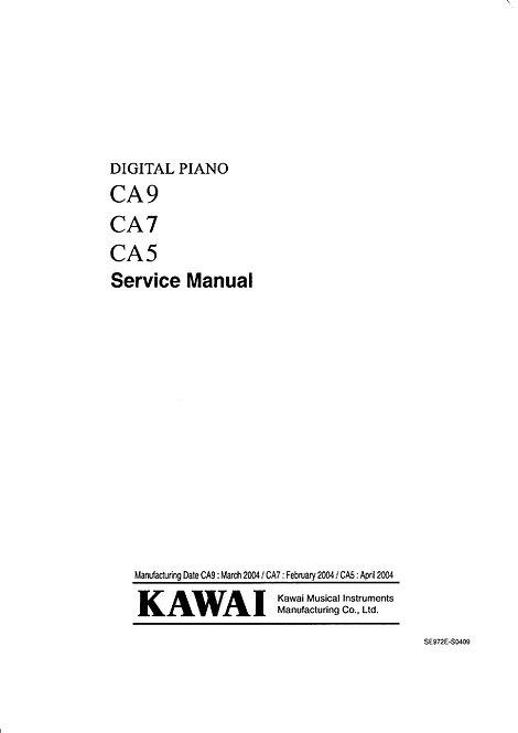 CA5 / CA7 / CA9 Service Manual