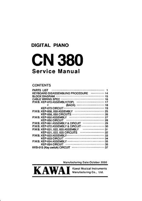 CN380 Service Manual