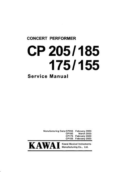 CP155 / CP175 / CP185 / CP205 Service Manual
