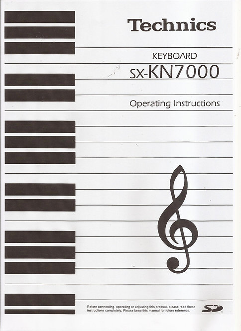 KN7000 Owners Manual