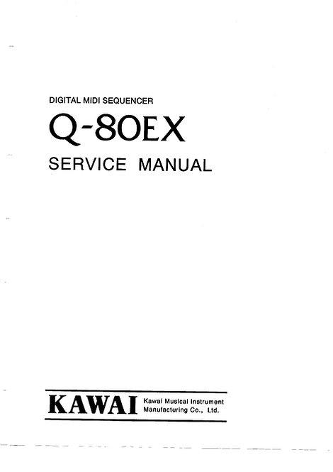 Q80EX Service Manual