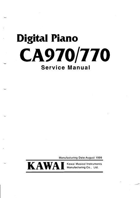CA770 / CA970 Service Manual