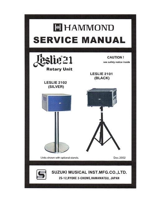 2101 / 2102 Service Manual