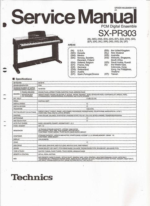 PR303 Service Manual
