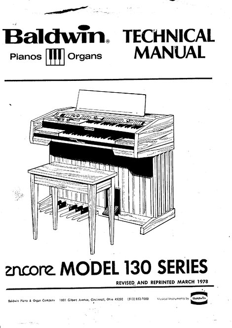 130 Series Encore Service Manual