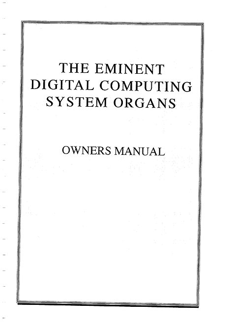 DCS Series Owners Manual