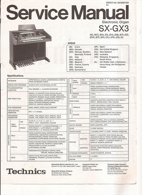GX3 Service Manual