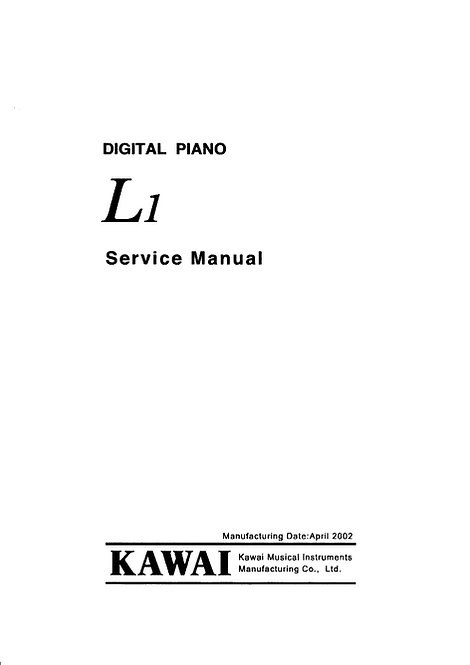 L1 Service Manual