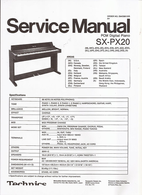 PX20 Service Manual