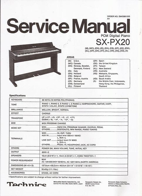 PX20 Service Manual