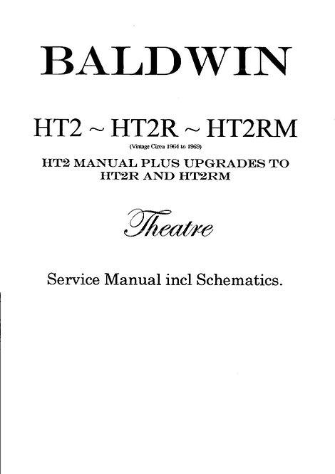 HT2 - HT2R - HT2RM Theatre Organ Service Manual