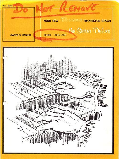 145R - 146R Sierra Deluxe Owners Manual