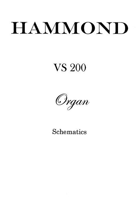 VS 200 Schematics