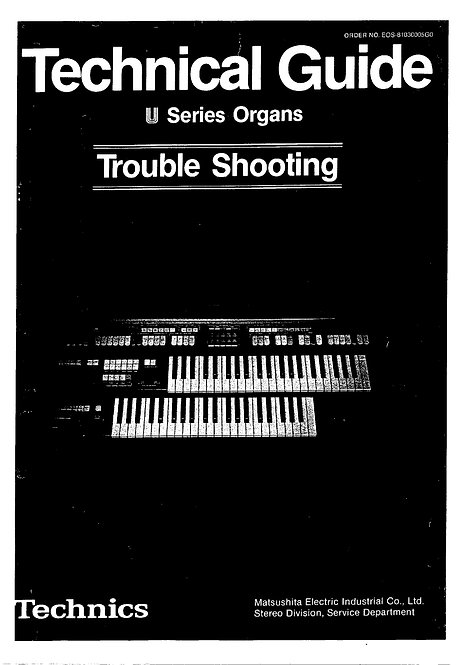 U Series Trouble Shooting Guide