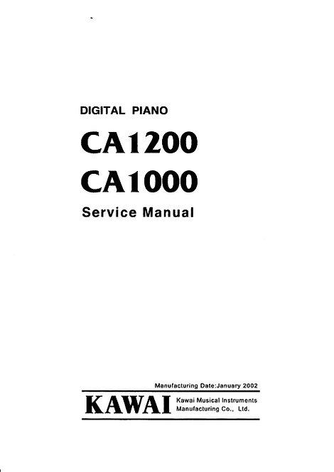 CA1000 / CA1200 Service Manual