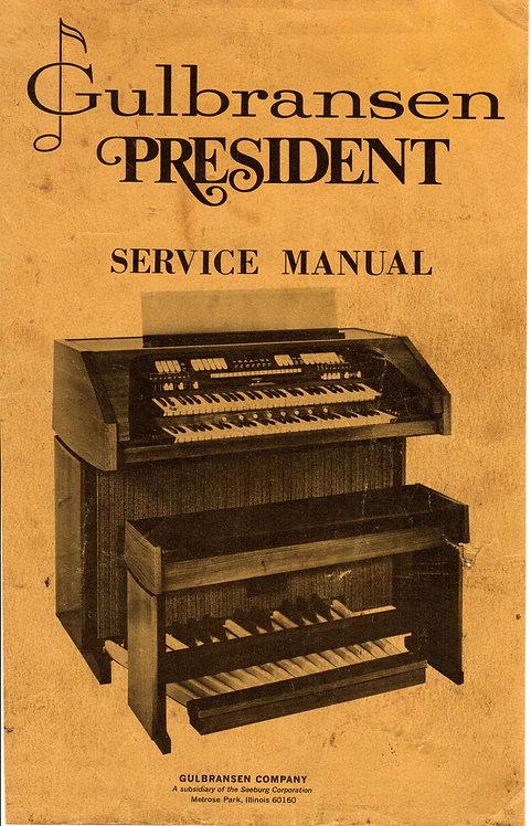 4116 / 4217 President Service Manual