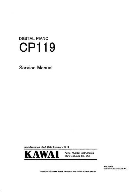 CP119 Service Manual