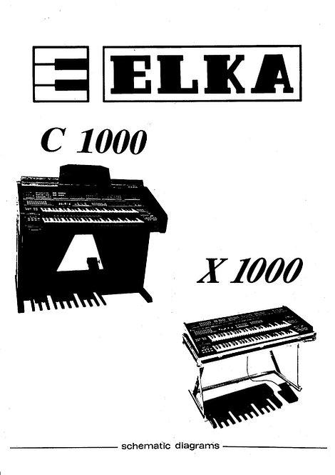 C1000 / C2000 / X1000 Schematics