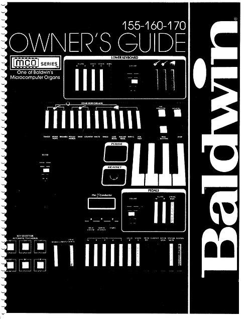 155 - 160  - 170  MCO Series Owners Manual