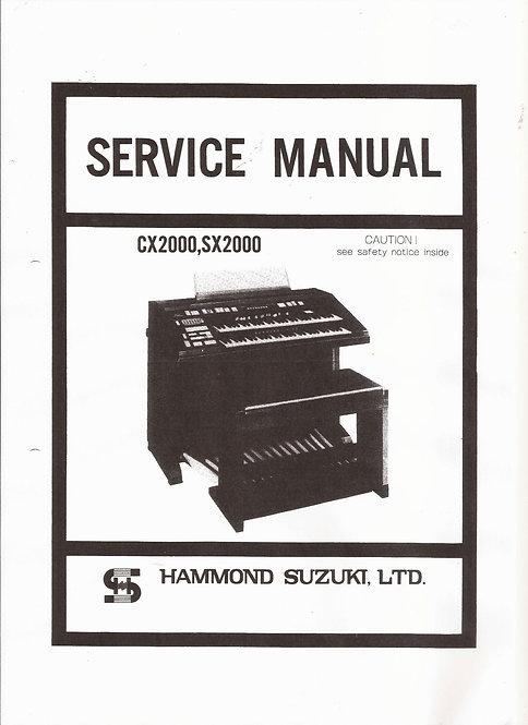 CX2000 , SX2000