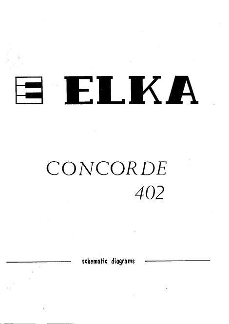 Concorde 402 Schematics