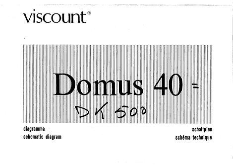 Domus 40 - DK500 Schematics