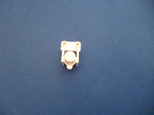 953522 Button Top White