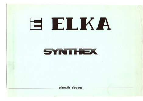 Synthex Service Manual