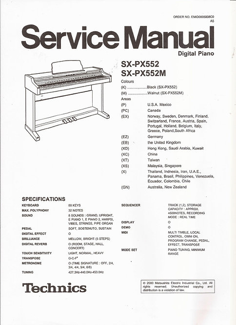 PX552 Service Manual