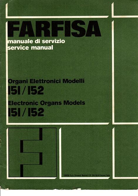 151 / 152 Service Manual