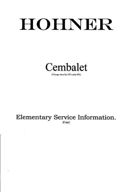 Cembalet Elementary Service Information