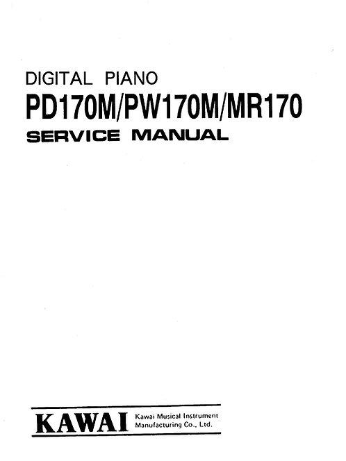PD170M / PW170M / MR170 Service Manual