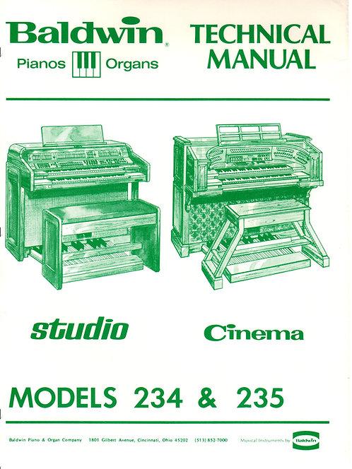 234 Studio / 235 Cinema Service Manual