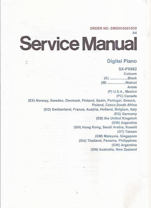 PX662 Service Manual