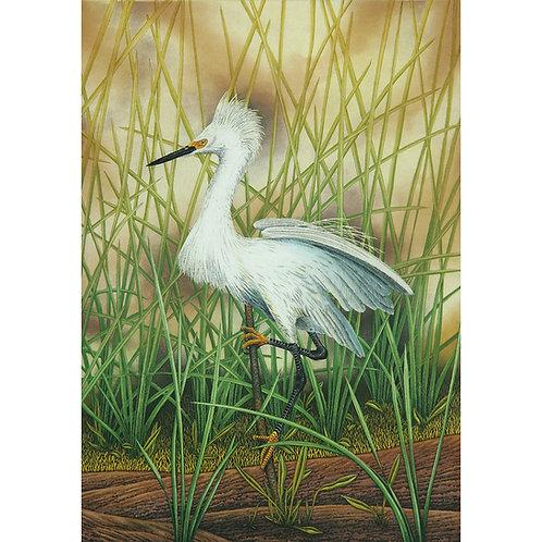 """""""Snowy Egret"""" C.E."""
