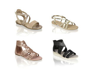 Sommerhit: Sandalen und Canvas Slip-ons by Shoe4You