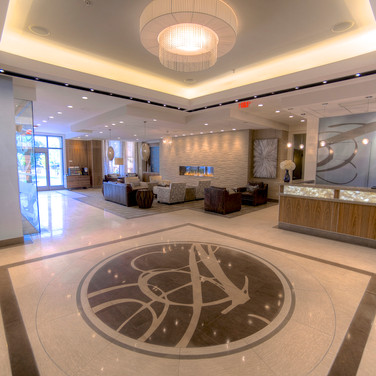 The Ashur Front Desk & Lobby