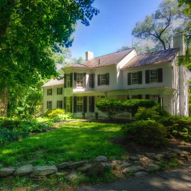 Historic Estate In Summer