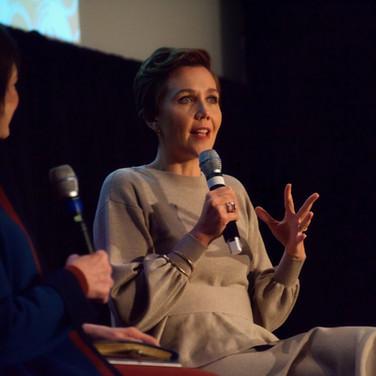 Actor Maggie Gyllenhaal