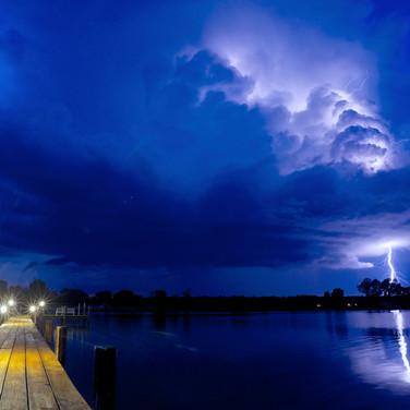 Lightning On The Bay