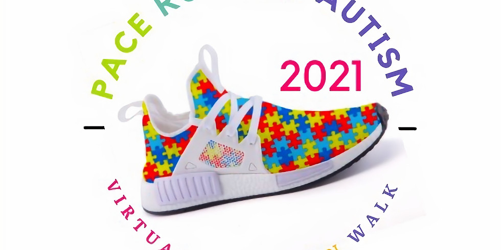 PACE RUN FOR AUTISM VIRTUAL 5K/10K RUN/WALK 2021 NOW - May 31st